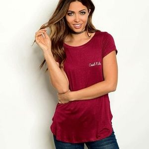 Tops - BN Cool Kids Embroidered  Short Sleeve T Shirt